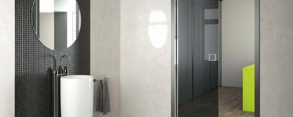 salle de bain pourquoi y int grer une porte coulissante. Black Bedroom Furniture Sets. Home Design Ideas